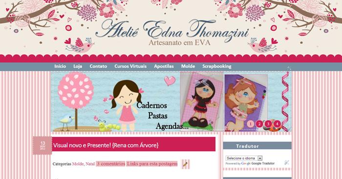Edna Thomazini ~ Trabalho entregue Ateli u00ea Edna Thomazini Cantinho do blog