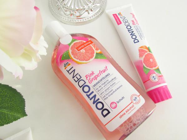 Dontodent Pink Grapefruit Mundspülung & Zahncreme