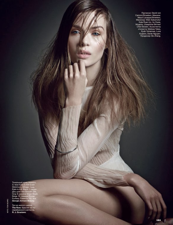 Josephine Skriver HQ Pictures Allure Russia Magazine Photoshoot March 2014