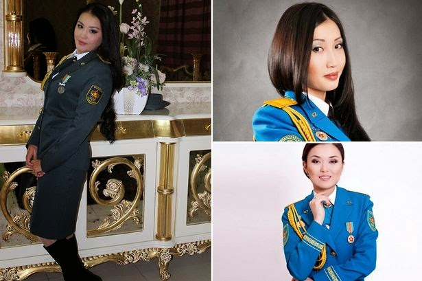 Kazakhstan Anjur Pertandingan Ratu Cantik Tentera