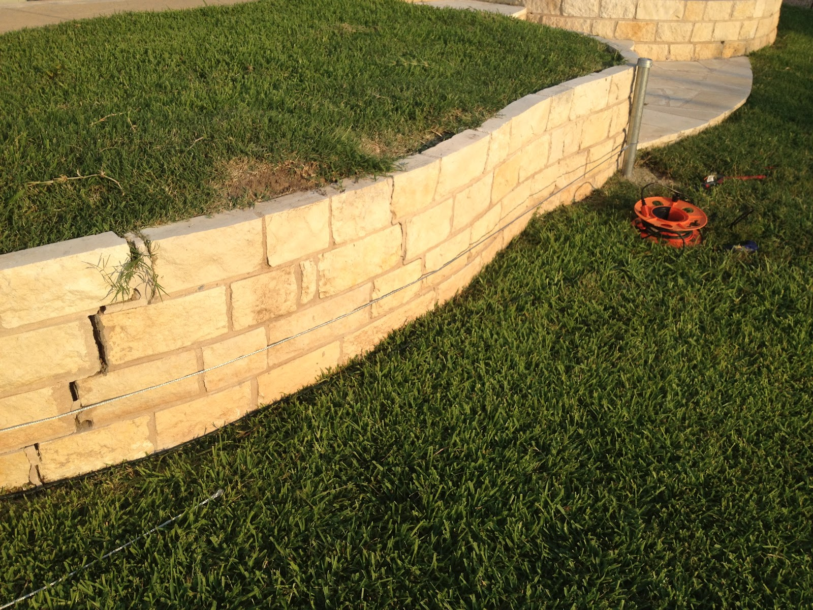 Reinforcing a Retaining Wall | Mike\'s Miscellanea