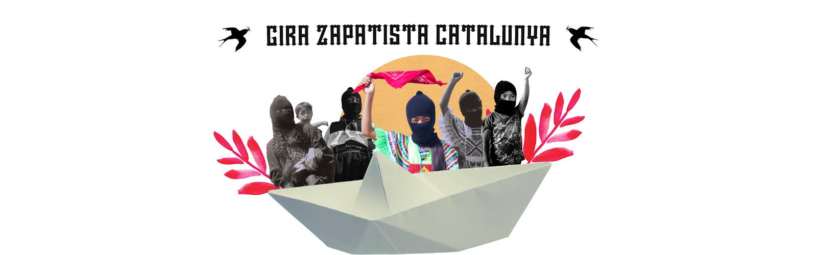 Gira zapatista Catalunya