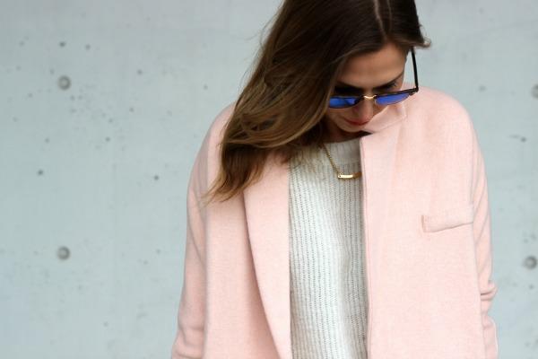forever 21 blush coat