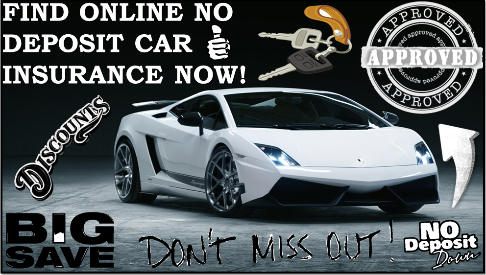 online no deposit car insurance