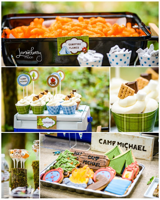 Camping Party Ideas | by Forever Your Prints