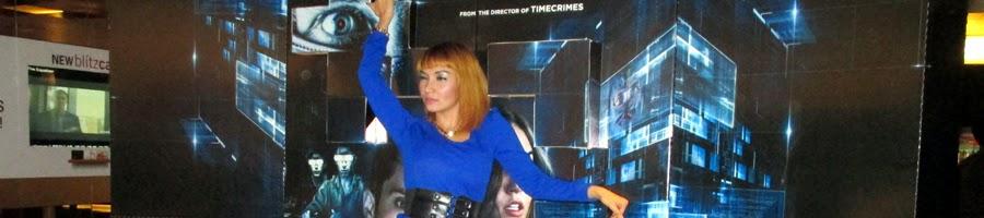 Roro Fitria di Gala Premier Film Sasha Grey Open Windows