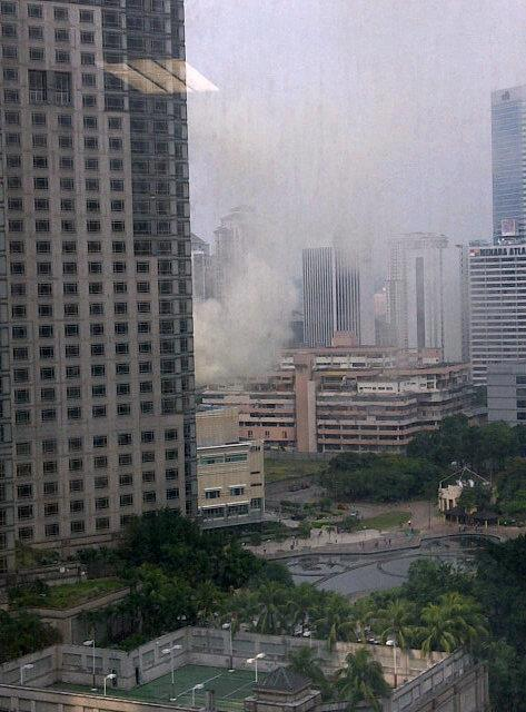 RESTORAN KLCC TERBAKAR