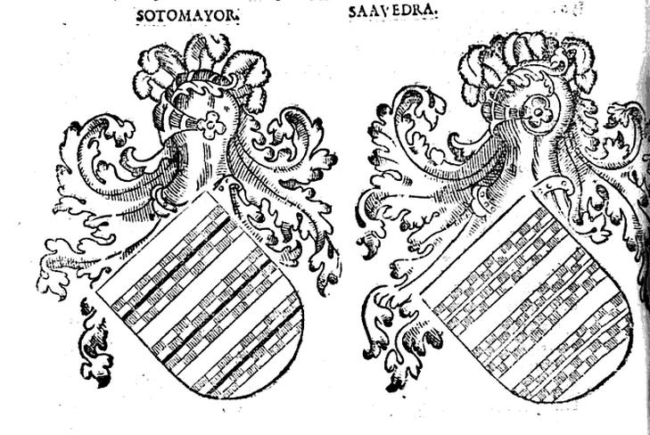 Escudos de Saavedra y Sotomayor