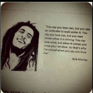 Display Pic Bbm - bob marley you say you love rain