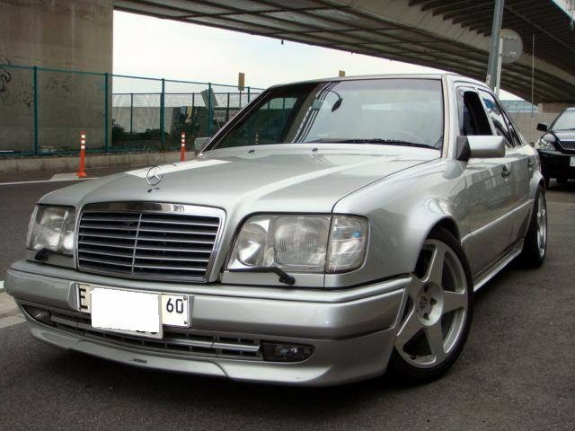1995 mercedes benz w124 e60 amg limited edition benztuning for Mercedes benz w124 amg