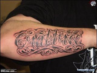 1990Tattoos  New...U Letter Design Tattoo