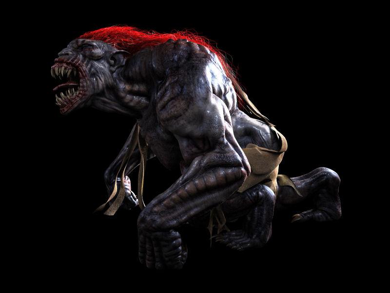 Los 10 monstruos más feos