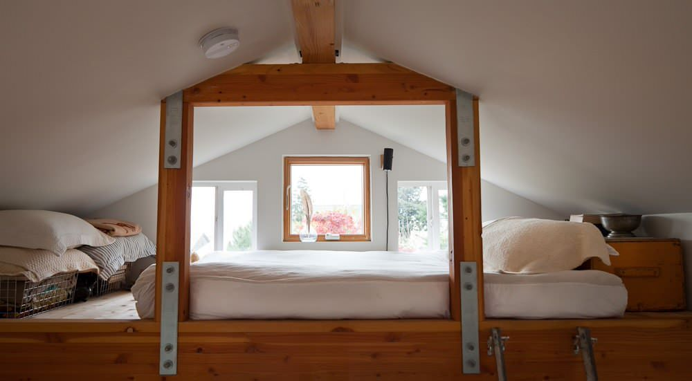 Planos low cost de garaje a casa from garage to house for Tiny house with 2 sleeping lofts