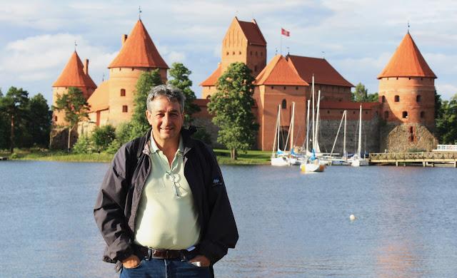Vilnius, Vilna, Lituania, Castillo, Parque Nacional, Trakai