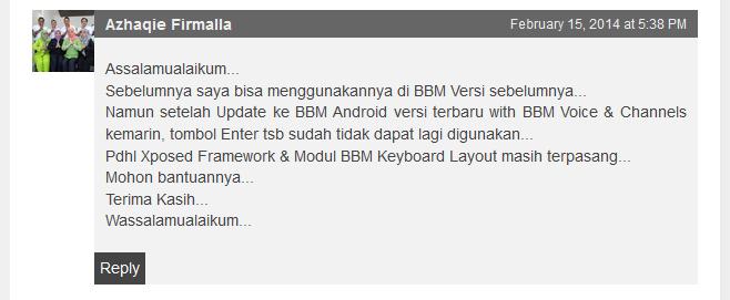 Cara Menambah Baris Baru Dengan Tombol Enter di BBM Android v2.0