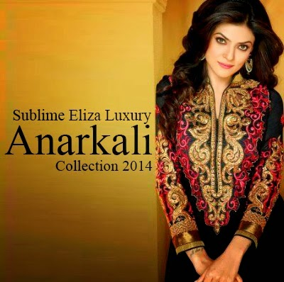 Best Luxury Anarkali Collection 2014