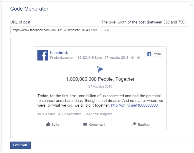 how to delete an embedded post on facebook