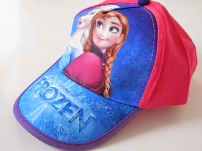 Topi elsa frozen untuk anak terbaru