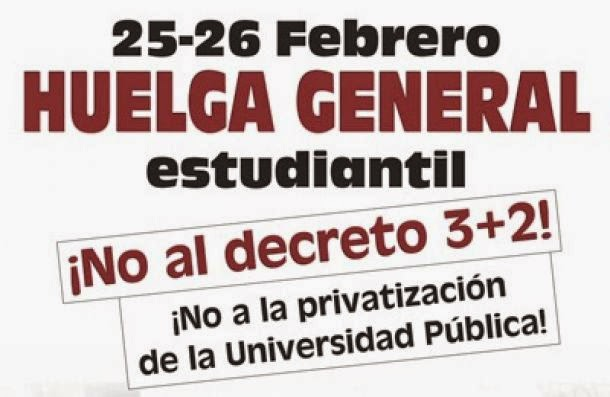 HUELGA GENERAL DE ESTUDIANTES