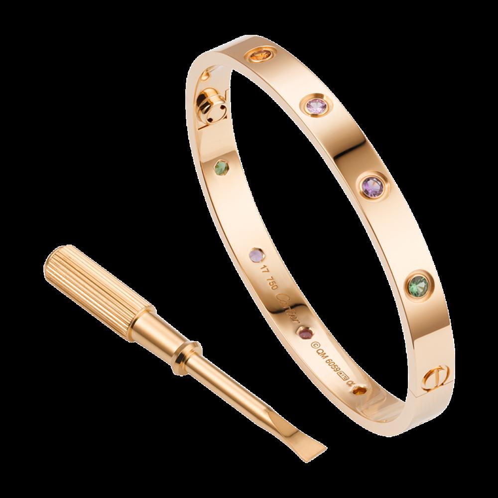 B6036516 1 cartier bracelets - Cartier Love Seri