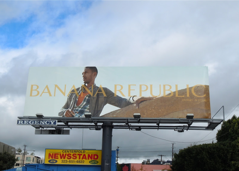 Banana Republic Spring 2011 billboard
