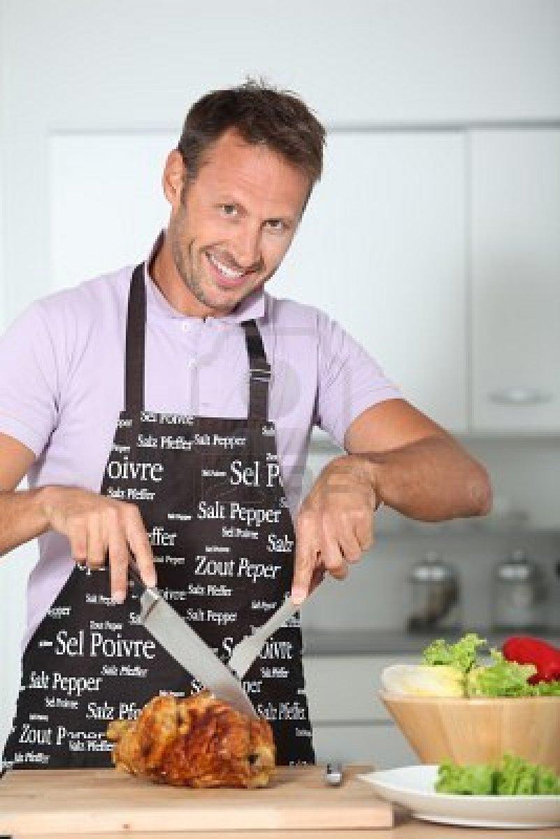 Magazine hombres en la cocina for Cocina para cocinar