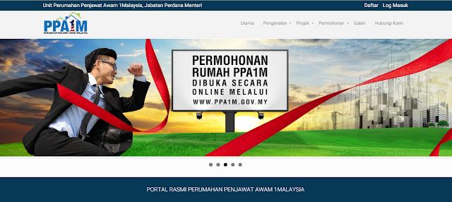 Permohonan Projek PPA1M Secara Online