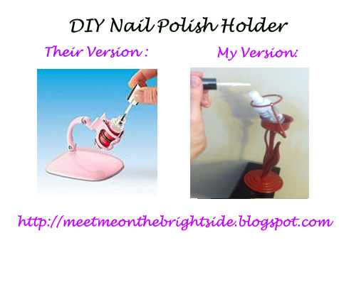 Diy Nail Polish Bottle Holder