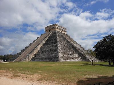 pirâmide de Kukulcán.
