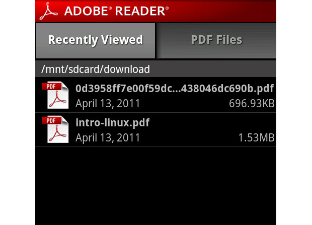 adobe pdf reader app download
