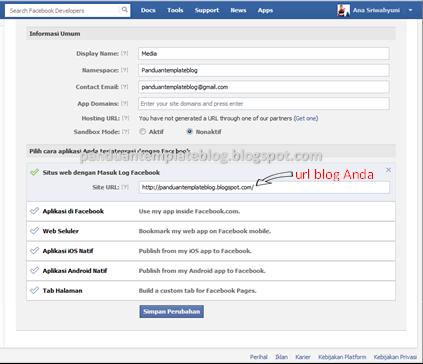 Panduan Cara Membuat Aplikasi Facebook
