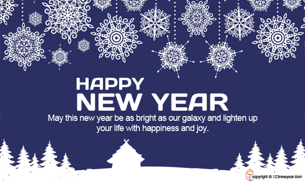 Happy New Year 2014 Blessings Wishes Greeting Cards