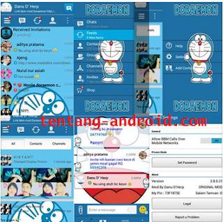Bbm Mod Doraemon versi Terbaru Apk download