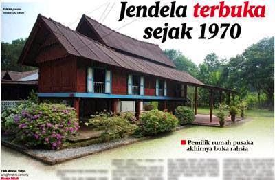 Misteri Rumah Tidak Pernah Ditutup Jendelanya Sejak 1970 Terjawap