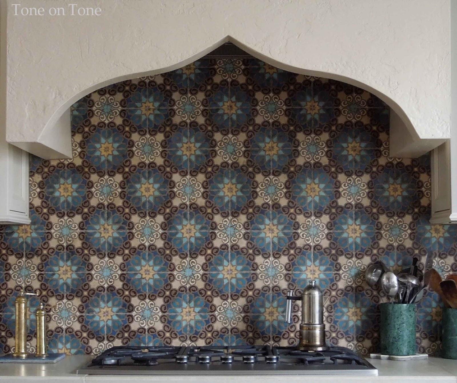Moroccan Backsplash Tile Kitchen