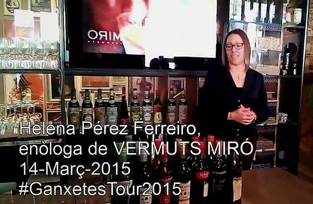 helena pérez enologa vermuts miró ganxetes tour 2015 reus