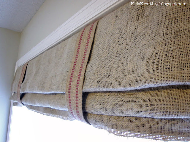 Ryan's DIY Roman Shades.