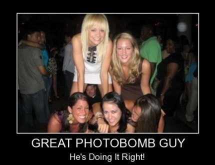 Photobomb Guy - Hard To Do It Better
