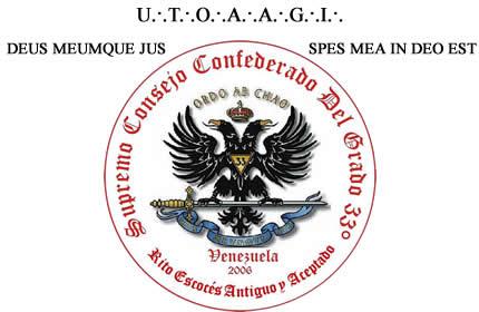SUPREMO CONSEJO DEL GRADO 33 PARA VENEZUELA - REAA -