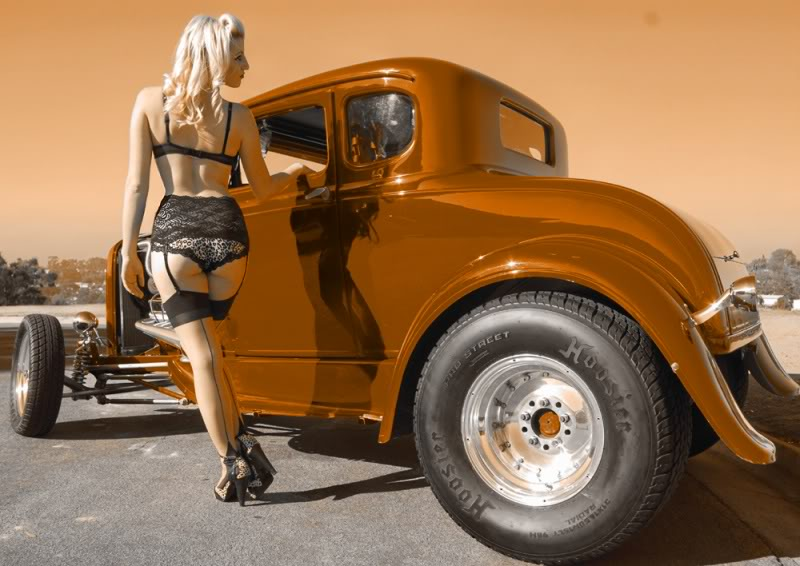 Hot Rods & Pin Up Girls Gallery 13 Sad Mans Tongue