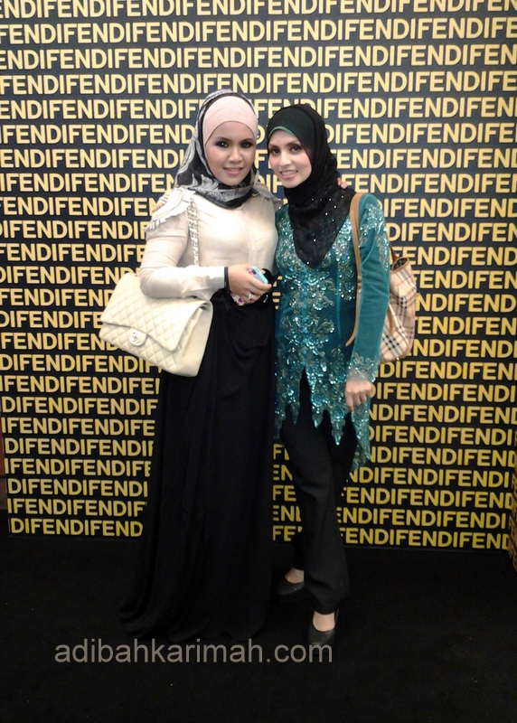 Fendi Baguette 15th Anniversary at KLCC had invited many popular malaysian artists, dress designers, and premium beautiful agents include me