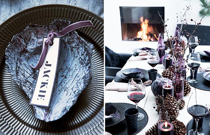 Ideas de decoracion de mesas de Fiestas Nochevieja Navidad