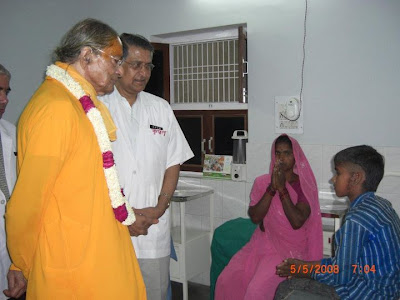 Jagadguru Kripalu Ji Maharaj at JKP Charitable hospital Mangarh 4