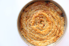 Almond Filo Swirl