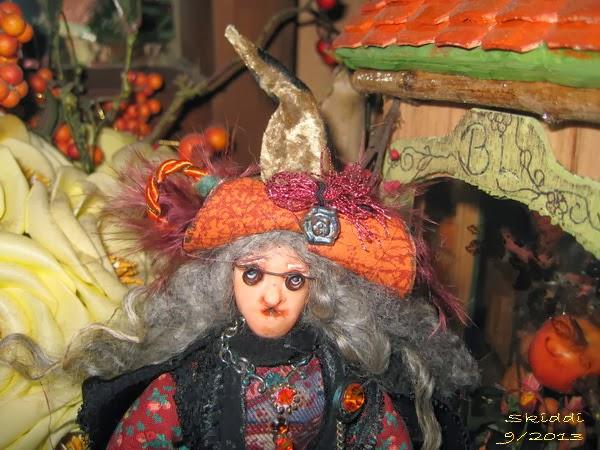 Polly Rockiflädder Hexe