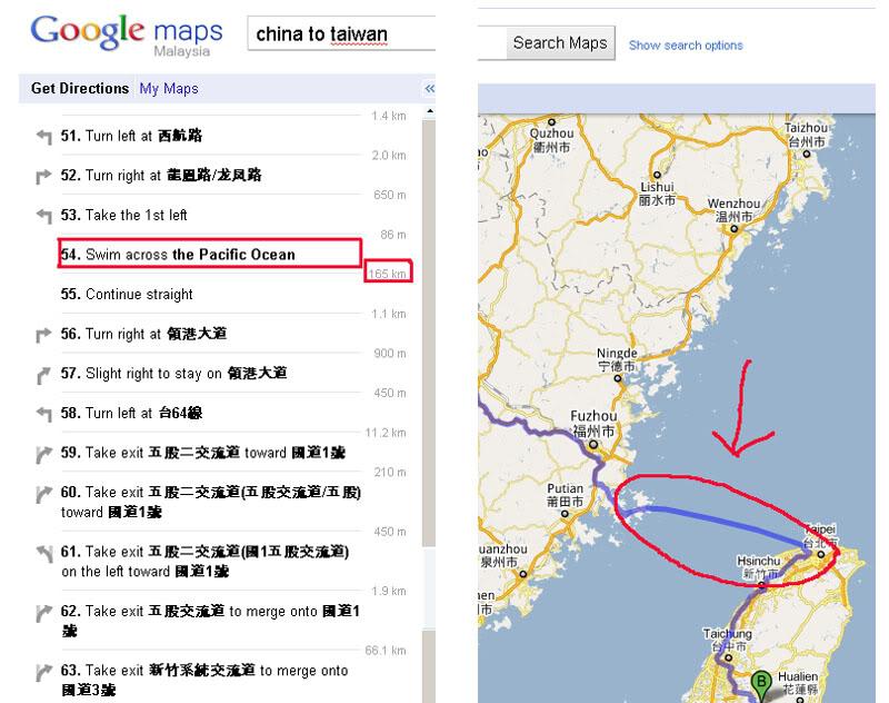google maps kelakar