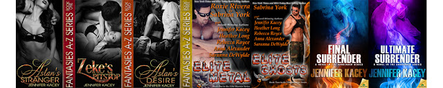 http://www.jenniferkacey.com/booklist.html