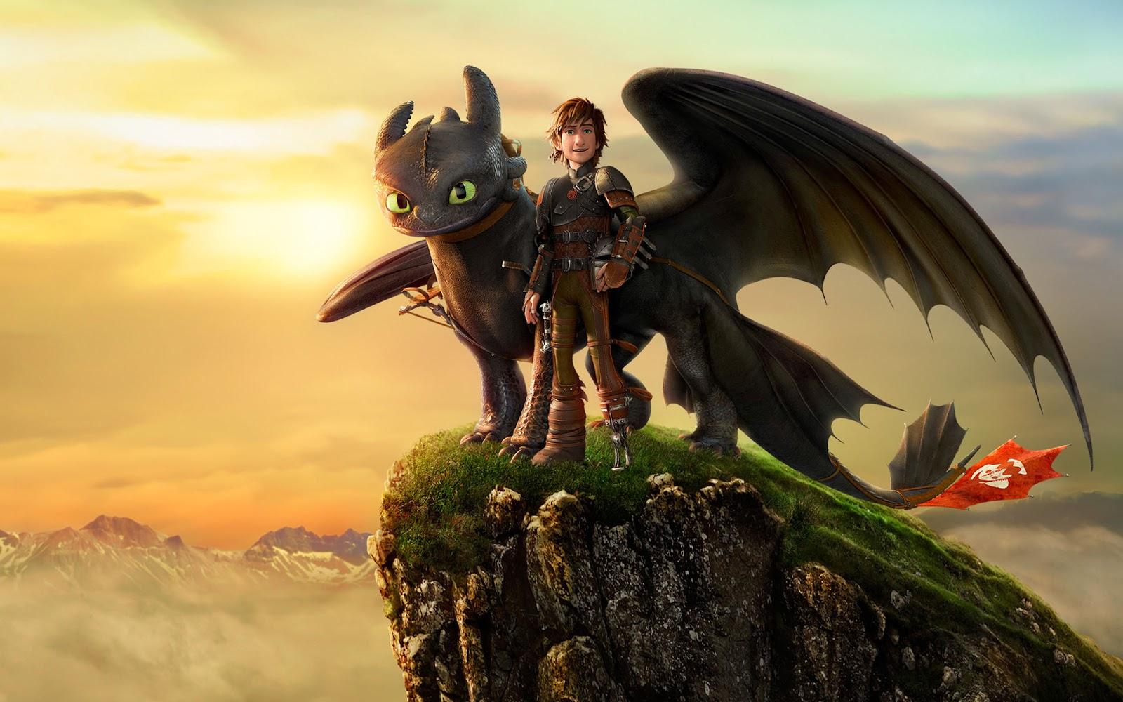 Как приручить дракона 2 иккинг и беззубик