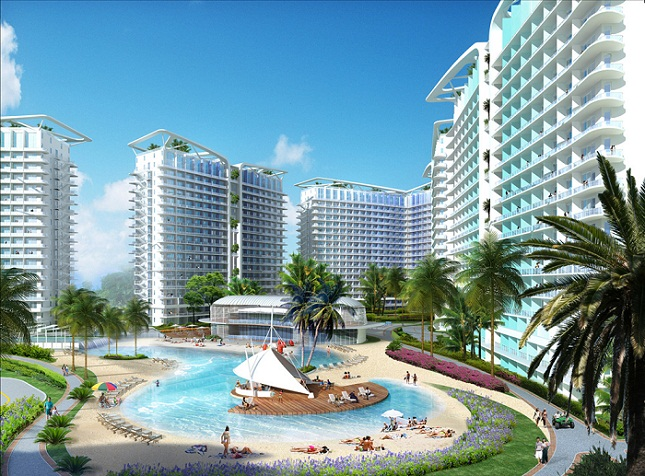 Get your own slice of paradise here at azure residences