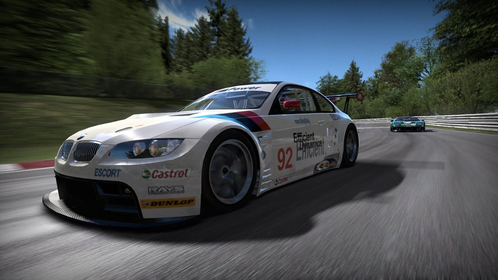 BMW Race Car NFS Shift